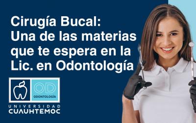 Cirugía Bucal: Una de las materias que te espera en la Lic. de Odontología